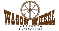 wagon wheel resort lake norfork logo