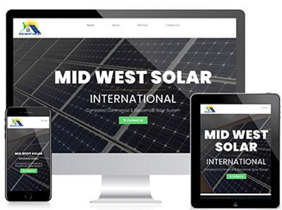 mid west solar international